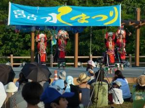 中琉婦女交流協會琉球分會表演臺灣民俗舞蹈