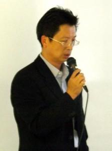 台湾貿易センター 福岡事務所 林所長