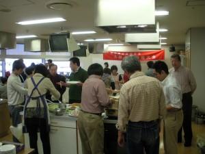 台灣古早佳餚料理大會會場一景