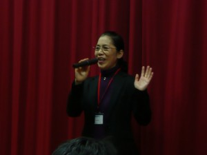 大阪中華學校校長陳雪霞