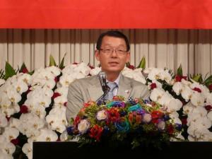 第九屆新會長 王明裕