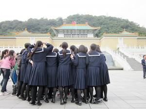台湾への修学旅行を行った熊本大津高校