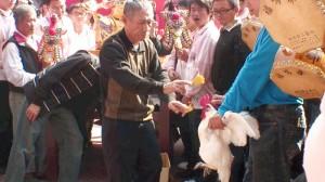 道教の儀式、開光