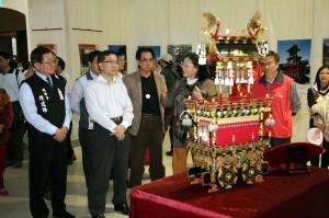 主題特區內有高山祭與郡上舞的文物展示 (照片提供:台中市政府)
