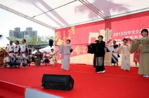 日本指定重要民俗文化財─高山祭、郡上舞展演活動開幕式(照片提供:台中市政府)