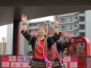 台灣原住民傳統舞蹈表演