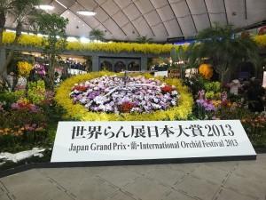 2月16至24日,為期9天的世界蘭展,在東京巨蛋盛大舉行