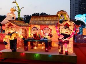 台湾の伝統家屋「三合院」