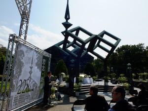 二二八記念碑広場