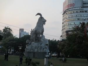 台湾の自由度は今年も高く評価された。市民の自由度は「2」だった(台中公園)