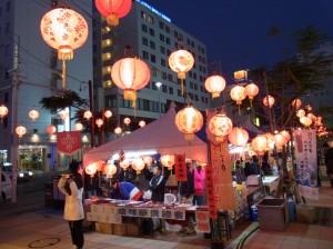 燈籠祭活動吸引許多僑民與沖繩民眾參加