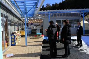 岩手縣吉里吉里臨時保育園現況,已增列為紅十字會的援建項目之一
