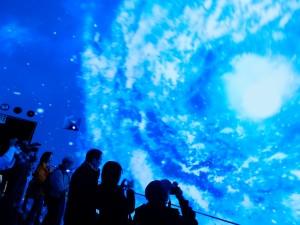 万博台湾館では大迫力の720度の映像が楽しめる
