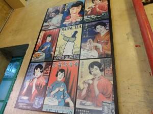 日本統治時代のポスター。当時の台湾紅茶は世界中に輸出されていた