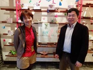 発起人のリリー池田さん(左)と邱翊さん
