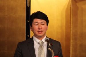 衆議院議員橋本英教氏