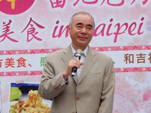 日本交流協會樽井澄夫代表