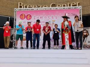 (左起)來自青森、岩手、秋田、宮城以及福島的義工團體代表
