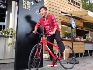 2013年台湾観光イメージキャラクターのショウ・ルオ