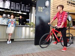 CFは台湾人青年が日本人女性を連れて台湾を案内すると言うストーリー
