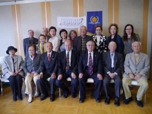 參與本次日本福祿壽會春節懇親大會的會員們合照