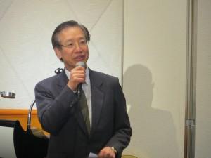 駐日代表處副代表羅坤燦致詞恭賀總會成立