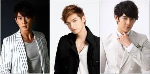 圖左起:吳尊、辰亦儒、汪東城,4月底起,將接力在日本舉辦粉絲見面會(照片提供ASC)