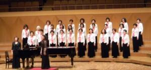 「台北心聲婦女合唱團」演出