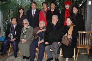 二度目の訪日。2004年12月31日大晦日に京都入りした李登輝元総統は恩師の家を訪問した。( 写真提供:大田一博氏)