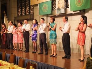 台灣客家山歌團帶來精彩表演