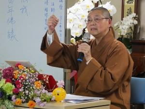 現任佛光山慈善院院長依來法師,來日講述人間佛法