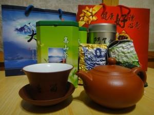 国際的にも名高い台湾のお茶