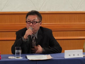 日本台灣商會聯合總會秘書長林瑞彬