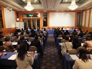 日本台灣商會聯合總會第一次召開理監事聯席會議