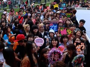 国内外から多くのファンが駆けつけた会場