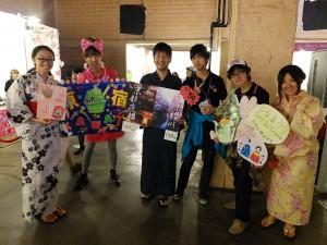 参加した日本からの大学生