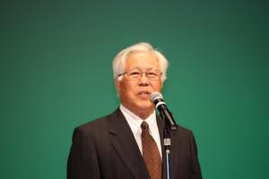 吉野稜威雄実行委員会副会長