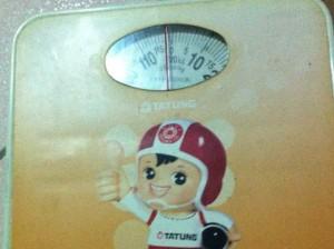 衛生署では母の日には体重計を贈って、ダイエットを促すことも勧めている