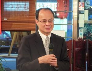 駐日代表沈斯淳致詞表示希望有更多華僑青年參與僑界活動