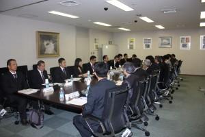 参考:第2回日台漁業交渉予備会合の様子(交流協会東京本部)