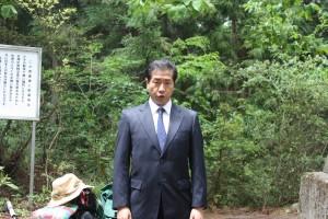 古川精一さんの「海行かば」独唱