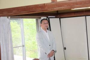 日本李登輝友の会の柚原正敬事務局長