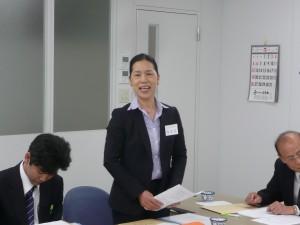 大阪中華學校校長 陳雪霞報告校務