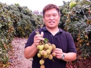 果樹産銷第27班欧憲龍班長