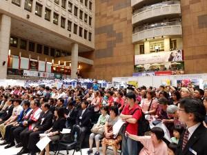 会場となった台北駅一階ロビー