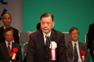 李雪峰・台湾高座台日交流協会理事長