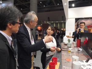 日本人對於毛筆造型的原子筆也很感興趣