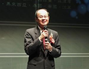 沈斯淳代表對慧禮法師在非洲各國的奉獻表達敬意