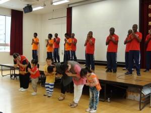 ACC院童表演手語歌、幼稚班小朋友臨時加入共演
