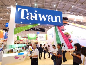 フードタイペイ最大パビリオンとなった「台湾館」